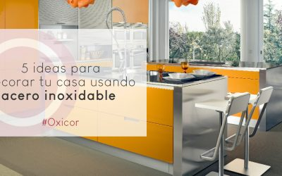 5 ideas para decorar tu casa con acero inoxidable