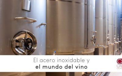 El acero inoxidable y el vino