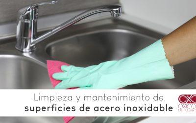 Acero inoxidable: Limpieza y mantenimiento de superficies