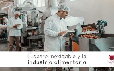 El acero inoxidable y la industria alimentaria
