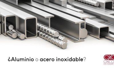 ¿Aluminio o acero inoxidable?